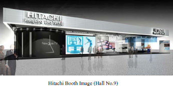 Hitachi Booth Images