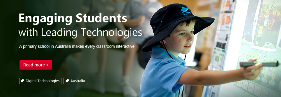 Engaging Students with Leading Technologies.A primary school in Australia makes every classroom interactive.