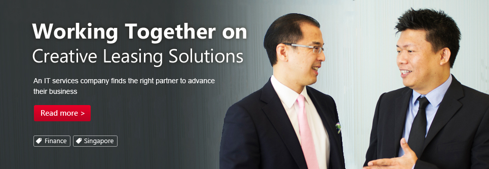 Working Together on Creative Leasing Solutions. An IT services company finds the right partner to advance their business.