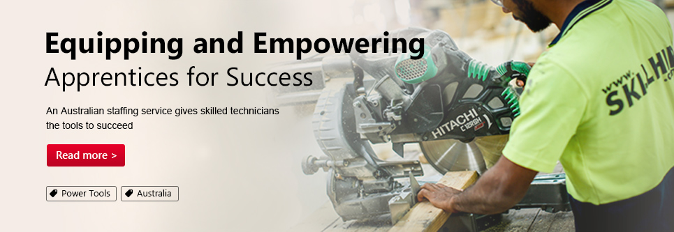 Equipping and Empowering Apprentices for Success. An Australian staffing service gives skilled technicians the tools to succeed.
