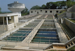 Photograph: Water treatment plant B