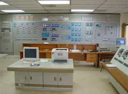 Photograph: Central monitoring room