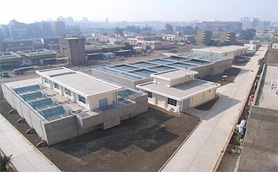 Photograph: Overview of water treatment plant
