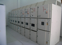 Photograph: 11kV receiving board