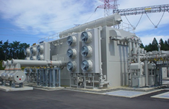 High Voltage Transformers Tr Transmission And Distribution Systems Hitachi