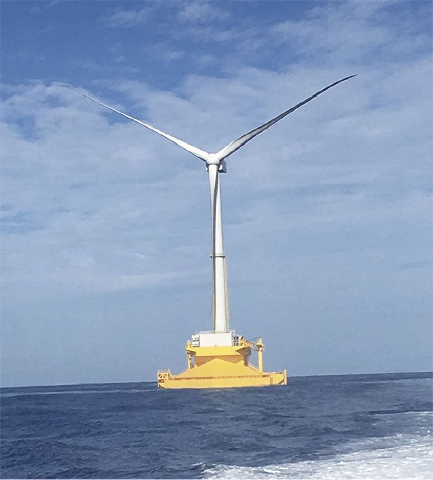 floating turbine The floating offshore wind industry has been cranking up a good head of steam this year, thanks partly to france that's something of a stealth move, considering that other eu countries like scotland have been grabbing most of the floating wind turbine headlines however, it looks like france gets.