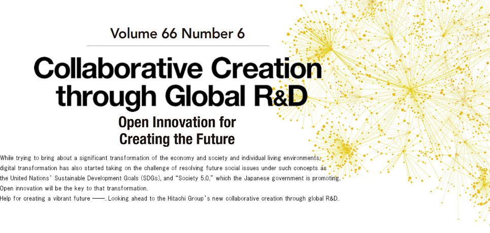 Collaborative Creation through Global R&D Open Innovation for Creating the Future