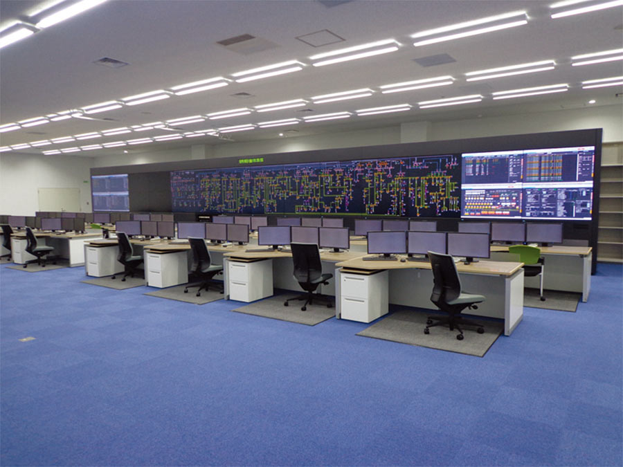 Distributed regional monitoring and control system for Tohoku Electric Power Co, Inc.