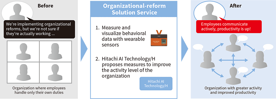 Outline of the organizational-reform solution service