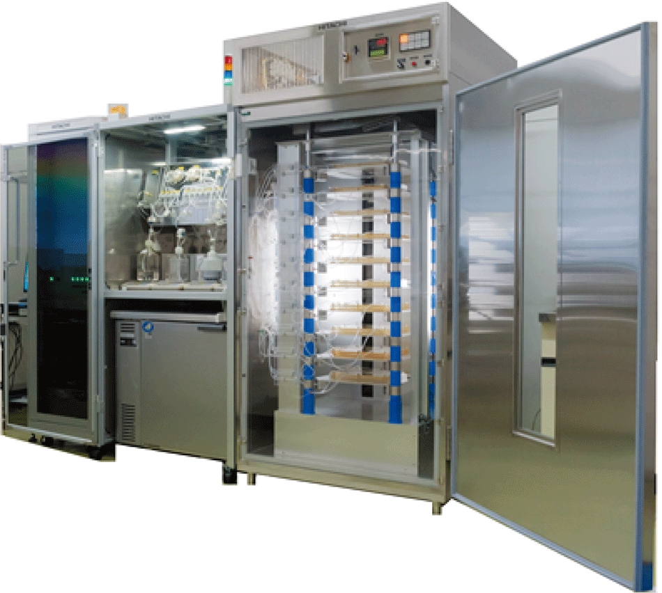 High-volume automated cell culture equipment