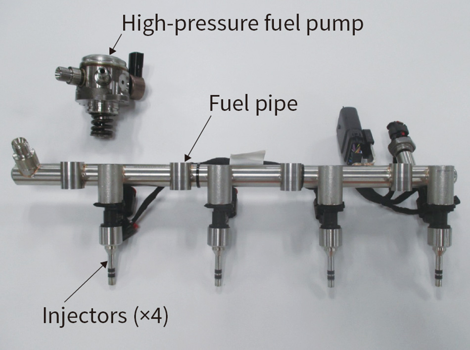 [6] Fuel supply subsystem for 35 MPa direct injection engine