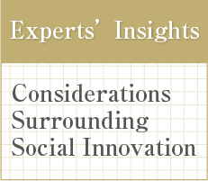 Experts'Insights : Considerations Surrounding Social Innovation