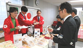 'Buy and Help Society! Bazaar' for disaster recovery in Tohoku