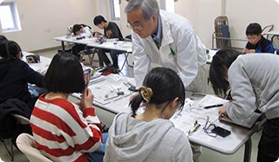 Support for science education in Hitachi City